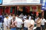 ஆக்கிரமிப்பு அகற்றும் பணி தடுத்து நிறுத்திய தி.மு.க.,வினர்