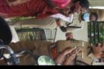 மண்ணெண்ணெய் கேனுடன் வந்த மூதாட்டியால் பரபரப்பு