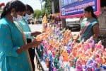 விநாயகர் சிலைகள் விற்பனை 'ஜோர்'