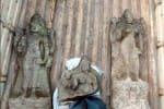 அழிவின் விளிம்பில் இருந்த சிலைகள் அருங்காட்சியக துறையினர் மீட்பு