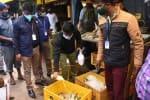 கெட்டுப்போன 450 கிலோ மீன் அழிப்பு   21 கடைகள் மீது நடவடிக்கை
