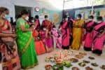 180 கர்ப்பிணிகளுக்கு சமுதாய வளைகாப்பு: சீர் வரிசைப்பொருட்கள் வினியோகம்