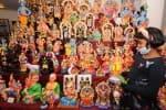 கொலு பொம்மை பூம்புகாரில் கண்காட்சி