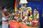 நித்ய கல்யாண பெருமாளுக்கு  சிறப்பு அலங்காரம்
