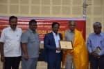 ஓய்வுபெற்ற பேராசிரியர்  பஞ்சாங்கத்திற்கு  விருது