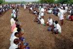 கமுதி அருகே ஆண்கள் மட்டும் பங்கேற்று கொண்டாடிய திருவிழா