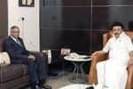 முதல்வர் ஸ்டாலினை சந்தித்த டாடா குழுமத் தலைவர்: உச்சம் தொட்ட பங்கு விலை