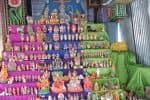 நவராத்திரி விழா கொண்டாட்டம் துவக்கம்: கொலு வைத்து கோலாகல வழிபாடு