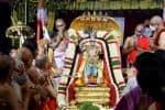 சின்ன சேஷ வாகனத்தில்  மலையப்ப ஸ்வாமி