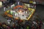 சத சண்டி மகா ஹோமத்தில் அம்மனுக்கு இந்திராணி அலங்காரம்