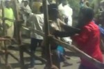 திமுக ,அதிமுக வேட்பாளர்களுக்கு இடையே தகராறு: ராணிபேட்டையில் போலீஸ் பாதுகாப்பு