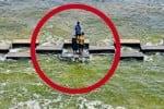 நீர் வெளியேறும் இடத்தில் 'போட்டோ ஷூட்' ; பூண்டியில் உயிர் பலி ஏற்படும் அபாயம்