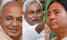 மீண்டும் தூசி தட்டுகிறார் தேவகவுடா...: முலாயம், நிதிஷ், மம்தாவும் கைகோர்ப்பு