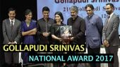 GOLLAPUDI SRINIVAS NATIONAL AWARD 2017
