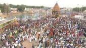 திருப்பதியில் மகா தேரோட்டம்