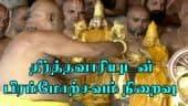 தீர்த்தவாரியுடன் பிரம்மோற்சவம் நிறைவு