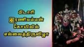 பிடாரி இரணியம்மன் கோயிலில் எல்லைத்திருவிழா