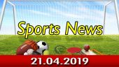 விளையாட்டுச் செய்திகள் | Sports News 21-04-2019 | Sports Roundup | Dinamalar