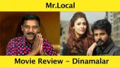 Mr.Local - திரைவிமர்சனம் | Review by Poo Sattai Kumaran | Dinamalar