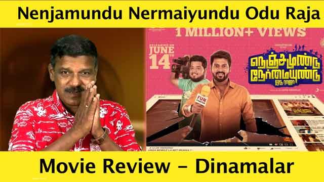 நெஞ்சமுண்டு நேர்மையுண்டு ஓடு ராஜா - திரை விமர்சனம் | Film Review by Poo Sattai Kumaran | Dinamalar