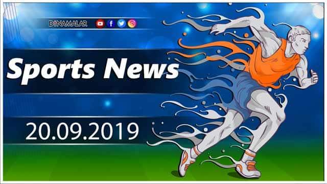 விளையாட்டுச் செய்திகள் | Sports News 20-09-2019 | Sports Roundup | Dinamalar