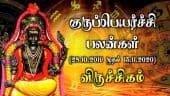 குரு பெயர்ச்சி பலன்கள் - விருச்சிகம் | Guru Peyarchi 2019 - 2020 | Viruchigam | Dinamalar