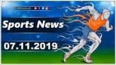 விளையாட்டுச் செய்திகள் | Sports News 07-11-2019 | Sports Roundup | Dinamalar