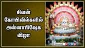 சிவன் கோயிலில்களில் அன்னாபிஷேக விழா
