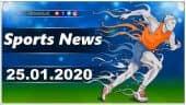 விளையாட்டுச் செய்திகள் | Sports News 25-01-2020 | Sports Roundup | Dinamalar