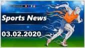 விளையாட்டுச் செய்திகள் | Sports News 03-02-2020 | Sports Roundup | Dinamalar