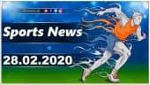 விளையாட்டுச் செய்திகள் | Sports News 28-02-2020 | Sports Roundup | Dinamalar