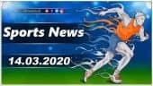 விளையாட்டுச் செய்திகள் | Sports News 14-03-2020 | Sports Roundup | Dinamalar