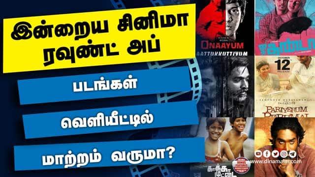 இன்றைய சினிமா ரவுண்ட் அப் | 28- 02-2021 | Cinema News Roundup | Dinamalar Video