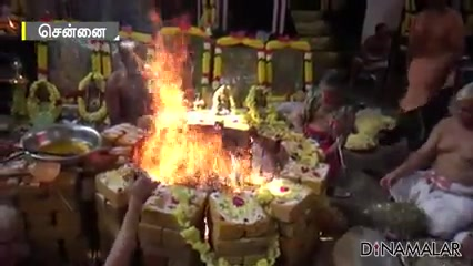 ஐயப்பன் கோயிலில் மஹா சுதர்சன ஹோமம்