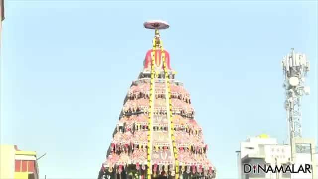 வீரராகவர் கோயிலில் தேர் திருவிழா