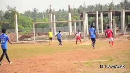 கால்பந்து: ரத்தினம் அணி வெற்றி