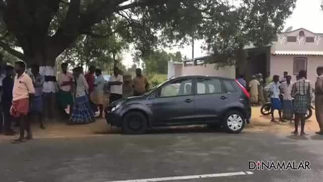 கார் மோதி சிறுமி பலி; 4பேர் படுகாயம்
