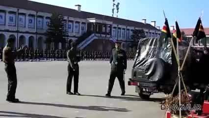 தேசம் காக்க புறப்பட்ட வீரர்கள்