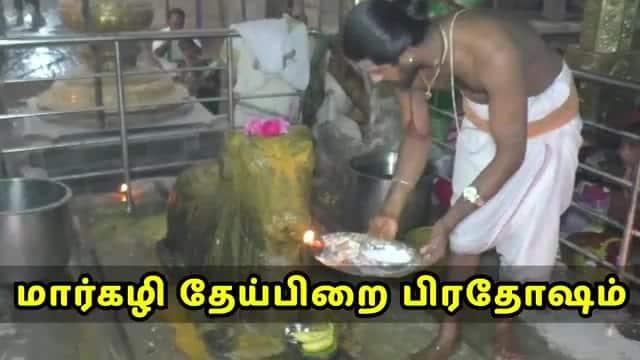 மார்கழி தேய்பிறை பிரதோஷம்