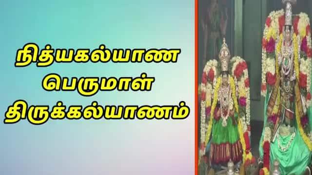 நித்யகல்யாண பெருமாள் திருக்கல்யாணம்