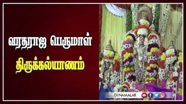 வரதராஜ பெருமாள் திருக்கல்யாணம்