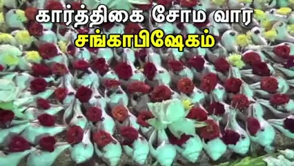 கார்த்திகை சோம வார சங்காபிஷேகம்