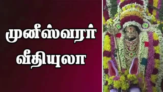 முனீஸ்வரர் வீதியுலா