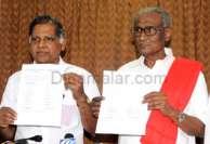 தமிழகம், புதுச்சேரியில் 18 தொகுதிகளில் இரு கம்யூனிஸ்ட் கட்சிகளும் போட்டி