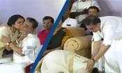 கமல் காலில் விழுந்த சுகாசினி