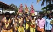 தென்னமநல்லூரில் உள்ள பிளேக் மாரியம்மன் கோவிலில் கரகம்