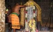 உடுமலையில் ஆல்கொண்டமால் திருவிழா: சுவாமிக்கு அபிஷேகம்