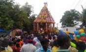 சங்கராபுரம் அடுத்த பொய்க்குனத்தில் மாரியம்மன் தேர்