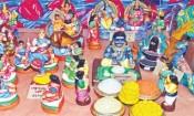 நவராத்திரி சர்வோதய சங்கத்தில் கண்கவர் கண்காட்சி
