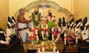 பஞ்சவடி கோயிலில் பட்டாபிஷேக ராமருக்கு திருமஞ்சனம்